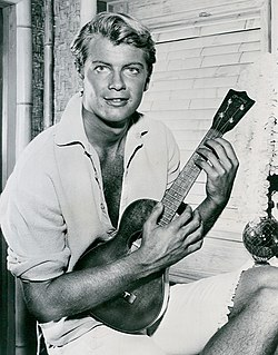 Troy Donahue American actor (1936-2001)