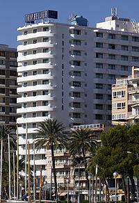 hotel tryp bellver en el paseo martimo de palma de mallorca