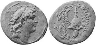 Diodotus Tryphon - Coin of Diodotus Tryphon.