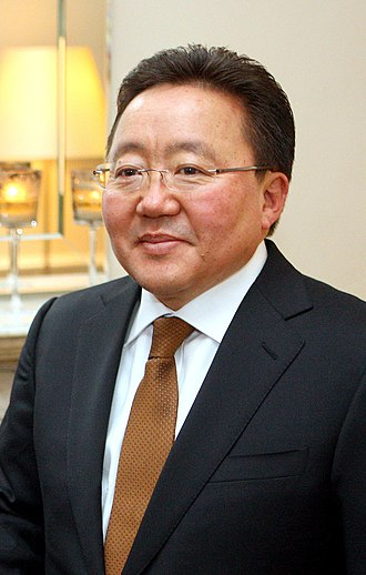 Politics of Mongolia - President Tsakhiagiin Elbegdorj