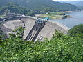 Tsuruda dam from park.JPG
