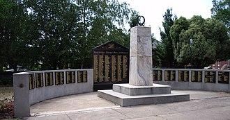 Tumbarumba - Image: Tumbarumba District Roll of Honour
