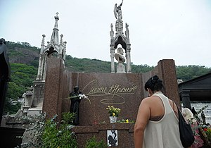 Cemitério de São João Batista - Grave of Carmen Miranda