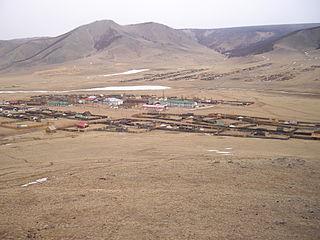Tünel, Khövsgöl District in Khövsgöl Province, Mongolia