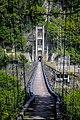 Tungmen Power Plant, Eastern Power Station, suspension bridge, north view, Xiulin Township, Hualien (Taiwan).jpg