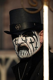 King Diamond Danish heavy metal musician