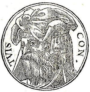 Tuisto - Tuisco from Promptuarii Iconum Insigniorum