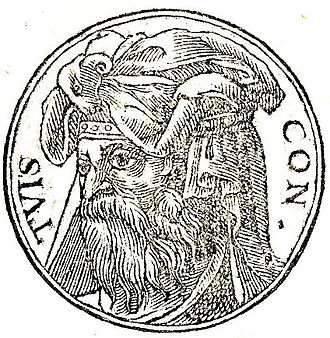 Tuisto - Tuisco from Promptuarii Iconum Insigniorum