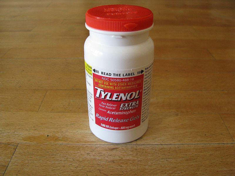 File:Tylenol bottle closeup.jpg