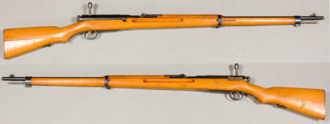 Type 38 rifle - Type 38 Rifle. From the collections of the Swedish Army Museum.
