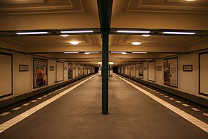 Oranienburger Tor (Berlin U-Bahn) - U-Bahnhof Oranienburger Tor