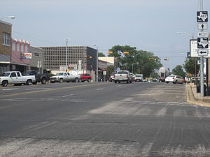 Rockdale, Texas - U.S. 79 is the main street of Rockdale.