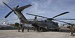 U.S. Marines arrive in the Cayman Islands aboard two CH-53E Super Stallion helicopters ready to support the humanitarian-aid and disaster relief effort to Haiti in response to Hurricane (29564420623).jpg