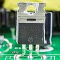 U2 Photon 2004 Moving Flash Light - power supply board - International Rectifier IRF3205-92559.jpg