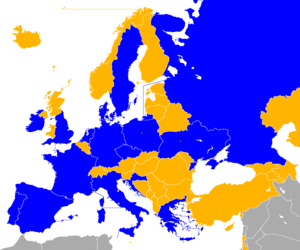 UEFA Euro 2012 qualifying - Image: UEFA Euro 2012 Qualifiers Map