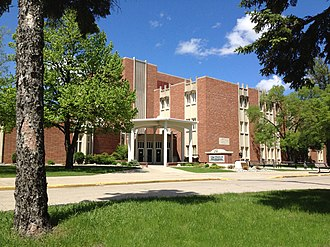 University of North Dakota - Gamble Hall, UND College of Business and Public Administration