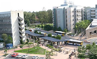 University of Queensland bus station