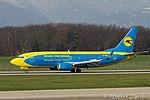UR-GBD Boeing B737-36Q-W B733 - AUI (23341166086).jpg