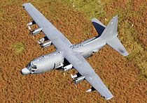 USAF Lockheed MC-130H Hercules flying thru Mach Loop.jpg