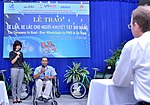 USAID Project Supports Rehabilitation Department for Children and Wheelchair Distribution in Danang (9305259978).jpg