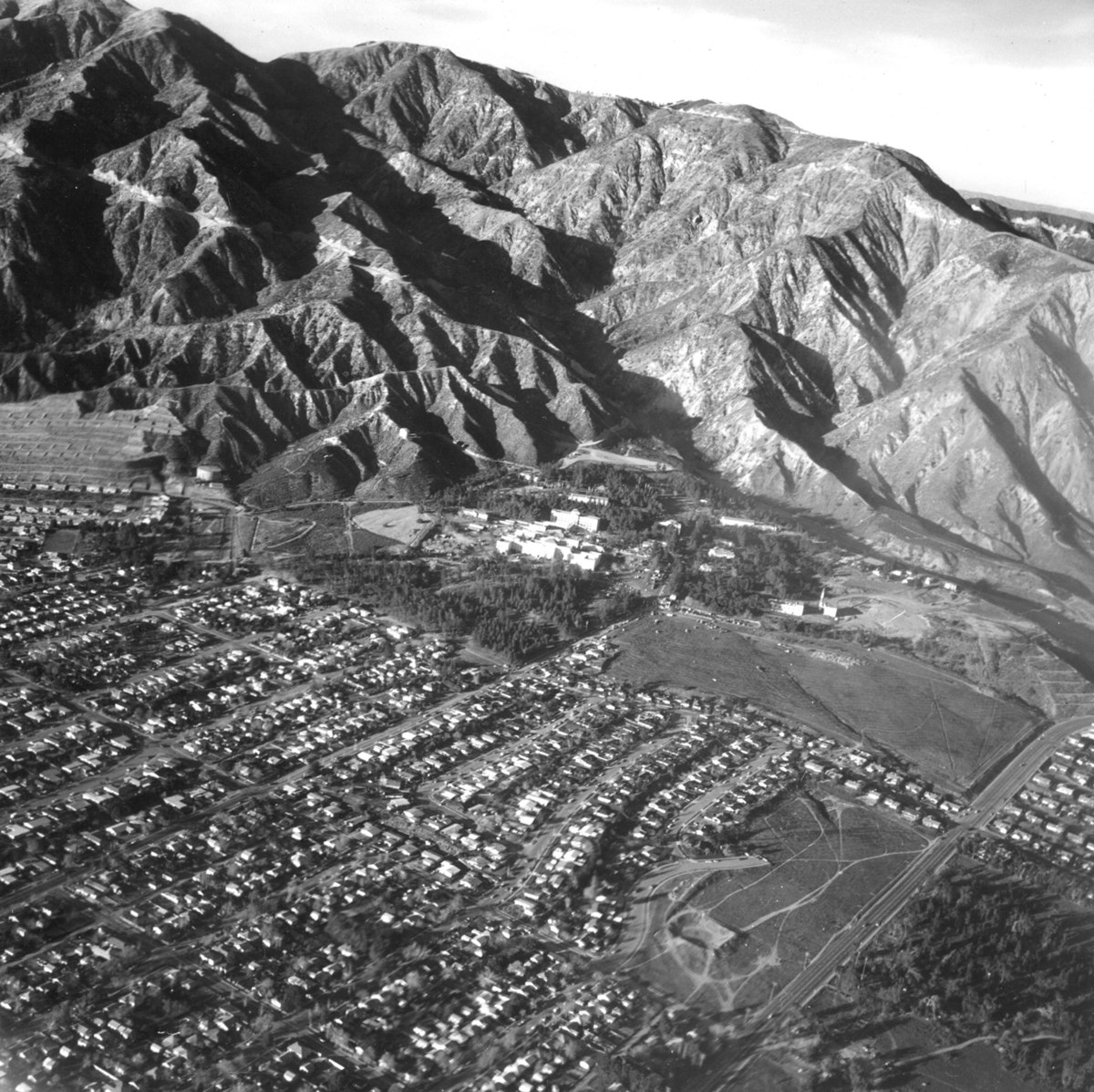 San Fernando Earthquake Wikipedia - Us map san gabriels mountain range