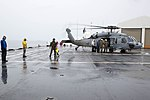 USNS Mercy transports injured people from Papua New Guinea to ship for emergency care during Pacific Partnership 2015 150630-M-DN141-533.jpg