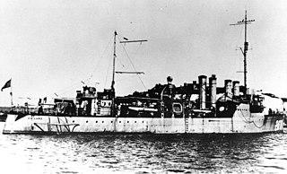 USS <i>Ballard</i> (DD-267) Clemson-class destroyer