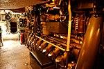 USS Bowfin - Engine Room (6160368673).jpg