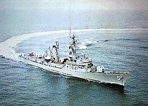 USS Claude V. Ricketts (DDG-5) underway c1964.jpg