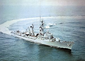 USS Claude V. Ricketts (DDG-5) underway c1964.jpg