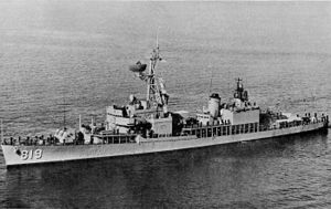 USS Holder (DD-819) at sea c1972