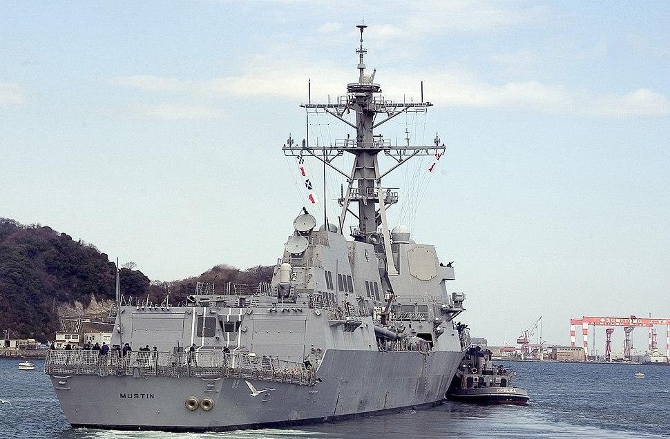 USS Mustin (DDG 89) stbd stern view