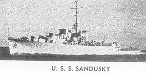 USS Sandusky (PF-54) - Image: USS Sandusky