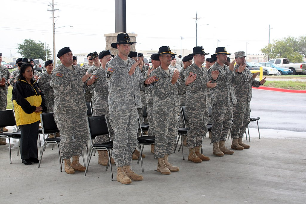 File Us Army 53162 Unit Leaders Assigned To The 4th