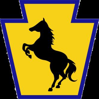 55th Maneuver Enhancement Brigade (United States) - 55th MEB shoulder sleeve insignia