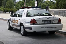 US Capitol Police Cruiser Ford Crown Vic rl.jpg
