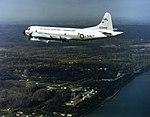 US Naval Research Laboratory P-3B Orion over Chesapeake Bay 1990.jpeg