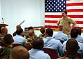 US Navy 050823-N-0962S-010 Master Chief Petty Officer of the Navy (MCPON) Terry Scott speaks to more than 60 chief petty officer selectees from Gulfport and Pascagoula, Miss.jpg