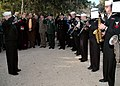 US Navy 060121-N-9197B-001 The Sixth Fleet Band plays during a ceremony held to pay tribute to the service members who gave their lives during the Anzio Allied Landing in World War II.jpg