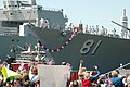 US Navy 060502-N-5055G-026 Family members welcome home the Sailors of the guided missile destroyer USS Winston S. Churchill.jpg