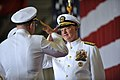 US Navy 090724-N-8273J-133 Chief of Naval Operations (CNO) Adm. Gary Roughead, left, salutes Adm. John C. Harvey, Jr. during the change of command ceremony for U.S. Fleet Forces.jpg