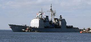 <i>Ticonderoga</i>-class cruiser Class of guided missile cruisers
