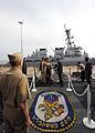 US Navy 110519-N-EF447-025 Cmdr. Doug Kunzman greets Gen. Chen Bingde.jpg