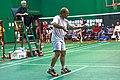US Senior International Badminton Tourney (Miami) - Sylvain playing MS35 (16442439117).jpg