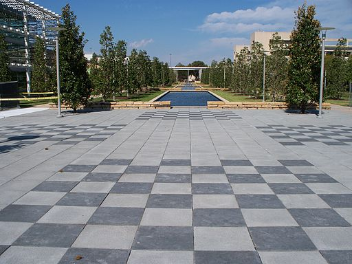 UT Dallas human-scale chessboards