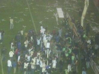 Club Universitario de Deportes - Universitario celebrates its 2008 Apertura title after beating Cienciano 3–1.