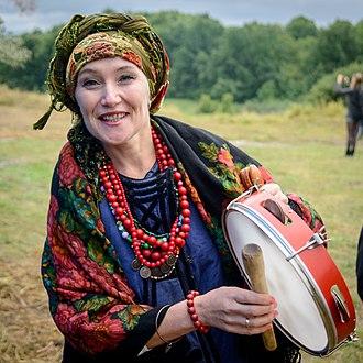 Tambourine - Ukrainian boben