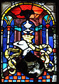 Ulmer Münster Passionsfenster rechts Wappen Besserer.jpg