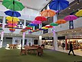 Umbrellas in City Square inside Runcorn Shopping City.jpg