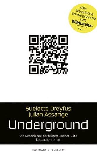 Suelette Dreyfus - Image: Underground Book Cover german 290px